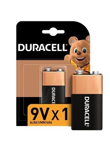 Duracell Duracell Dayanıklı 1'Li Alkalin 9V Pil Renkli